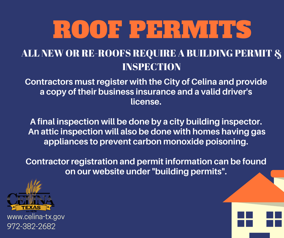 Roof permits