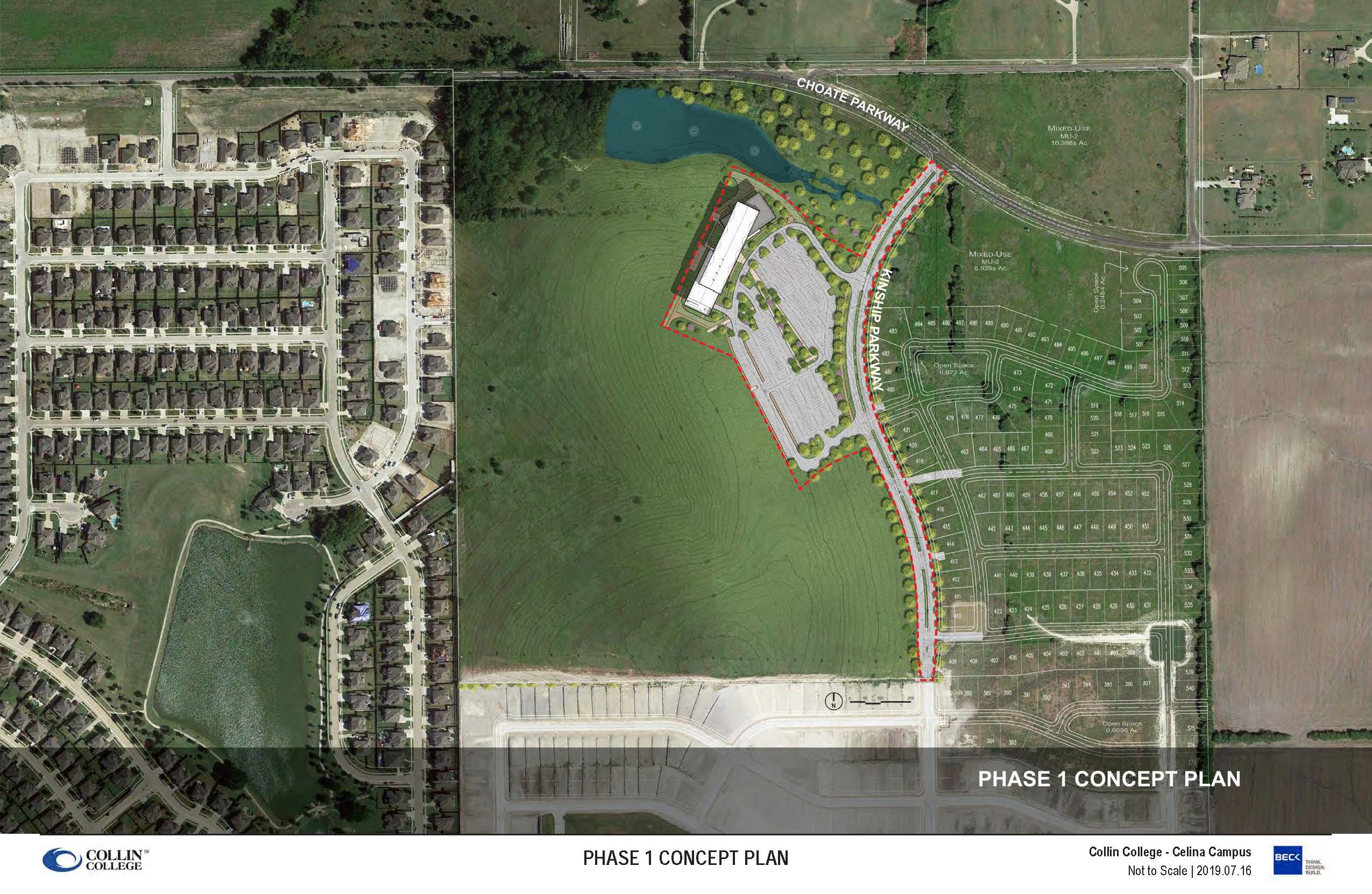 Collin College - Phase 1 Site Plan