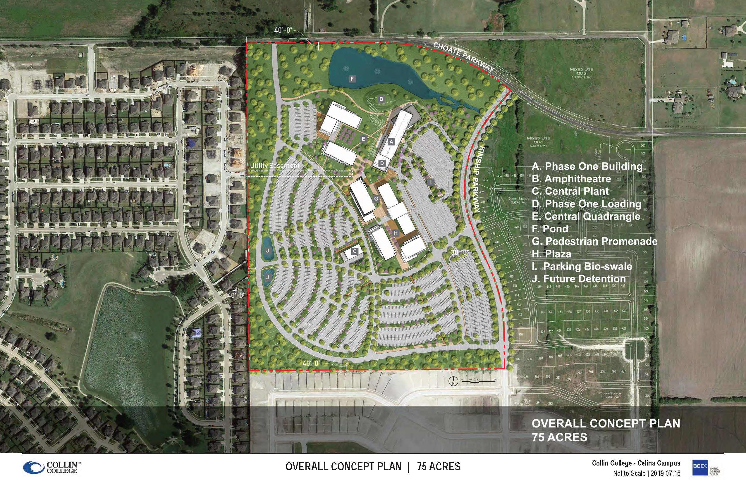 Collin College - Ultimate Site Plan